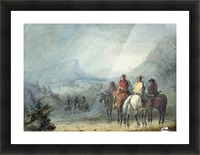 Storm - Waiting for the Caravan Picture Frame print