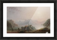 The Lake Her Lone Bosom Expands to the Sky Picture Frame print
