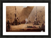 Indian Lodge Picture Frame print