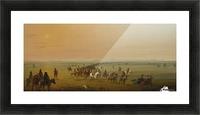 Sir William Drummond Caravan en Route Picture Frame print
