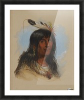 Big Bowl - Indian Chief Picture Frame print