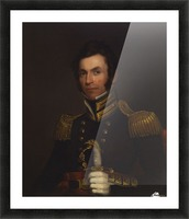 Portrait of Colonel Alexander Smith Picture Frame print
