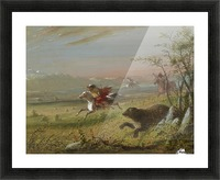 The Grizzly Bear Picture Frame print