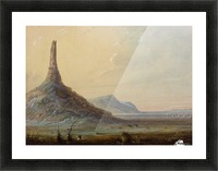 Chimney Rock Picture Frame print