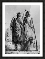 Plains Indian Shields Picture Frame print