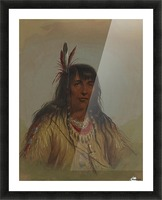 Bannock Indian Picture Frame print