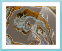 Reflection in Chrome Picture Frame print