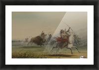 The Bravado Picture Frame print