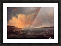 The Battle of Fort McHenry Picture Frame print
