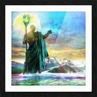The Benevolent Light Picture Frame print