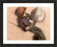 The milliner 2 by Degas Picture Frame print