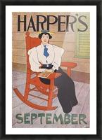 Harper's September Picture Frame print