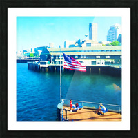 Seattle Morning Picture Frame print