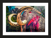 Wooly Mamoth Picture Frame print