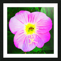 lady bug flower Picture Frame print