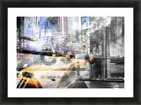 New York City Geometric Mix No. 9 Picture Frame print