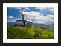 Church of the Sacred Heart Picture Frame print