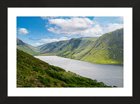 Lough Veagh Picture Frame print