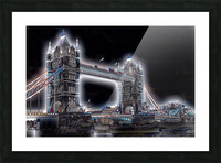 Tower Bridge Picture Frame print