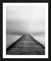 Fog Picture Frame print