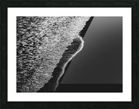 Moonlight Waves Revere Beach Picture Frame print