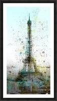 City-Art PARIS Eiffel Tower II Picture Frame print