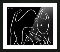 Pasiphae and the Bull Picture Frame print