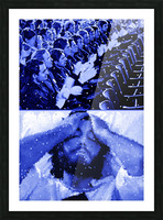 Serpico Picture Frame print