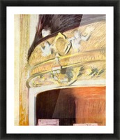 Theater Loge by Degas Picture Frame print