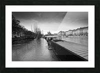 Flood in Paris Impression et Cadre photo