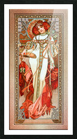 LAutomne by Alphonse Mucha Old Masters Reproduction Picture Frame print