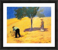 Tree in Cornfeld by Macke Picture Frame print