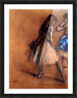 Two dancers 1 by Degas Picture Frame print