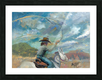 Ride Em Cowboy Picture Frame print