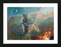 A Cowboys Trusted Friend Picture Frame print