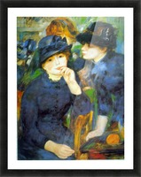 Two Girls by Renoir Picture Frame print