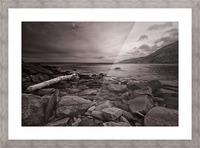La Bloc Rocks Picture Frame print