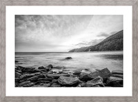 Serenity Waters Picture Frame print