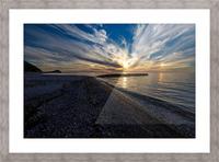 La Bloc Sunset Picture Frame print