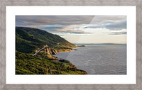 Summer on the Cabot Trail Picture Frame print