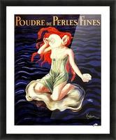 Poudre de Perles Fines Vintage Poster Picture Frame print