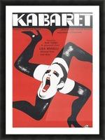 Polish Film Poster Cabaret Wiktor Gorka Picture Frame print