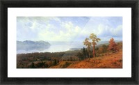View of the Hudson River Vally by Bierstadt Picture Frame print