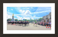 Changing of the Guard London United Kingdom Picture Frame print