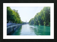 Snapshot in Time Zurich in Summer 1 of 6 Picture Frame print