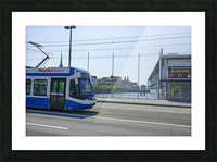 Snapshot in Time Zurich in Summer 4 of 6 Picture Frame print