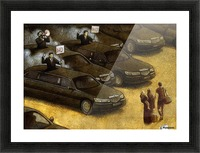 unrest Picture Frame print