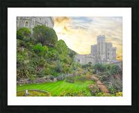 Windsor Castle at Sunset Picture Frame print