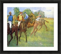 Weigh out by Degas Picture Frame print
