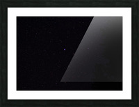 The Greater Dog Constellation  Picture Frame print